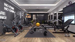 Gymnasium - Capital Icon Mall & Residency