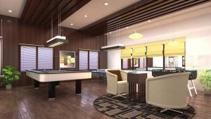 apartments with indoor games in islamabad